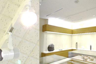 LEDスポットライト等の設置
