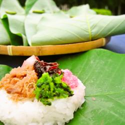 ほう葉寿司・かしわ餅