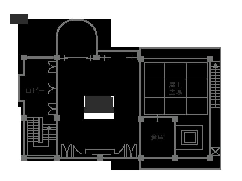会場見取り図 2F